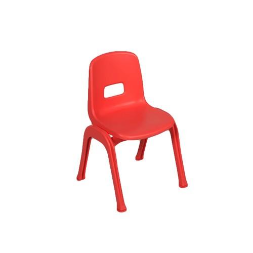 Sedia in plastica impilabile vari colori per MaternaArredo per Asili