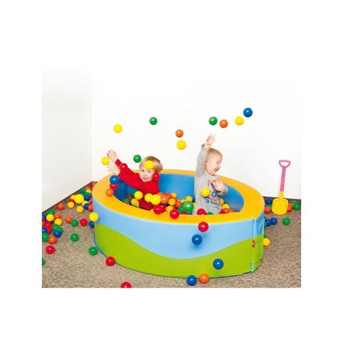 Piscina ovale soft con palline colorate per asiliarredo - Piscina con palline per adulti ...
