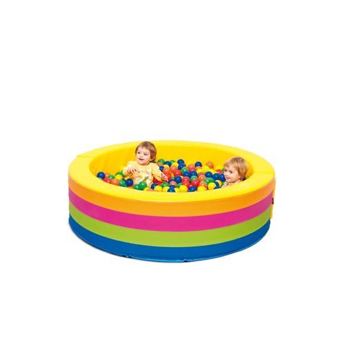 Piscina rotonda soft con palline per asiliarredo per asili - Piscina con palline per adulti ...