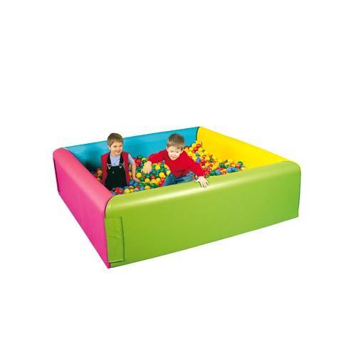 Piscina soft con palline 2x2 per asiliarredo per asili - Piscina con palline per adulti ...