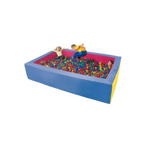 Piscina 3x2m con palline colorate per asiliarredo per asili - Piscina con palline per adulti ...