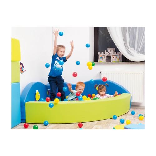 Piscina soft con palline colorate per asiliarredo per asili - Piscina con palline per adulti ...