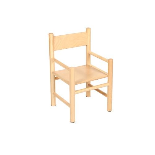 Sedie Con Braccioli.Materna E Nido Sedia Con Braccioli