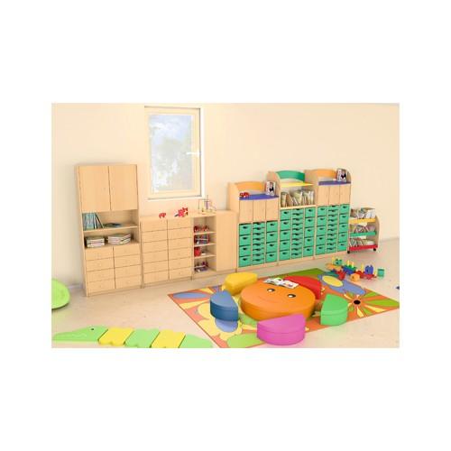 Composizione mobili cl 04 per asilo nido maternaarredo for Arredo per asili