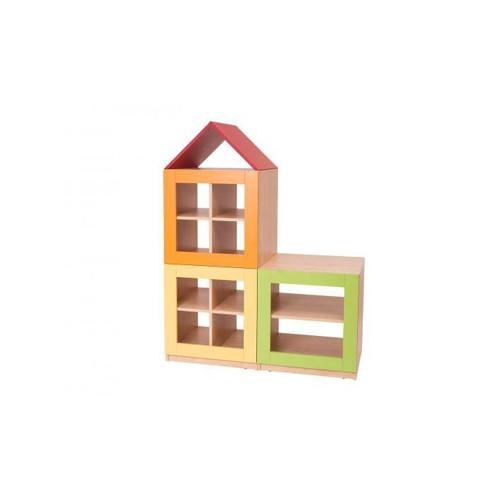 Composizione quartiere 3 moduli arredo per asiliarredo for Arredo asili nido