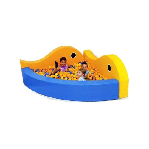 Piscina angolare 2 balene con 600 palline arredo per - Piscina con palline per adulti ...