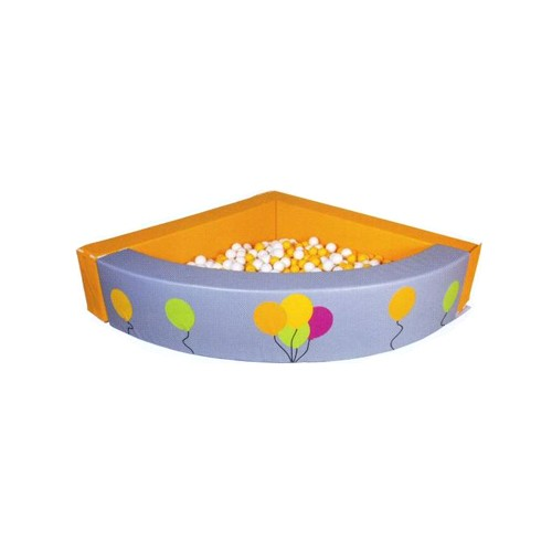 Piscina angolare palloncini con 600 palline arredo per - Piscina con palline per adulti ...