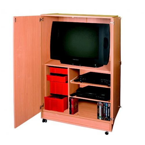 Mobile porta tv con ruote arredo per asiliarredo per asili for Arredo per asili