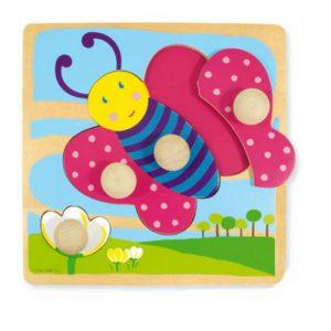 Pannello Sensoriale – Puzzle Farfalla