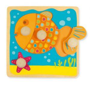 Pannello Sensoriale – Puzzle Pesce