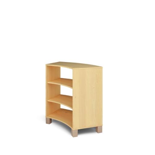 Arredo biblioteca libreria onda h94 asilo nido e for Arredo per asili