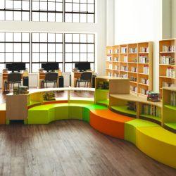 arredo-per-asili-Composizione Arredo Biblioteca