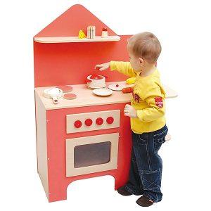 Cucina Giocattolo Rossa