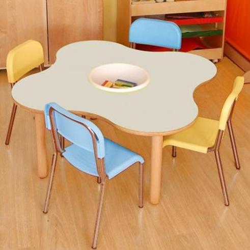 arredo-per-asili-tavolo-quadrifoglio-con-sedie